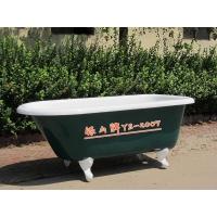 美剧出境最高的铸铁搪瓷浴缸,弹头圆独立浴盆