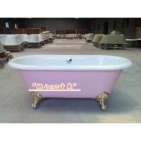 简派浴缸系列-铸铁搪瓷无裙浴缸多色多尺寸