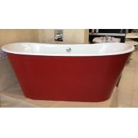 浴缸厂家直销双层保温铸铁搪瓷浴缸酒店首选款式