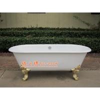 卫浴洁具 独立式铸铁浴缸 铸铁水槽