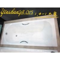 嵌入式浴缸马里布无裙铸铁浴缸源自西班牙