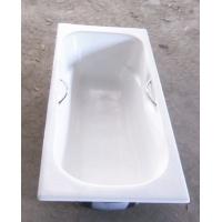 简派卫浴 嵌入式铸铁搪瓷浴缸 无裙马里布浴缸带防滑