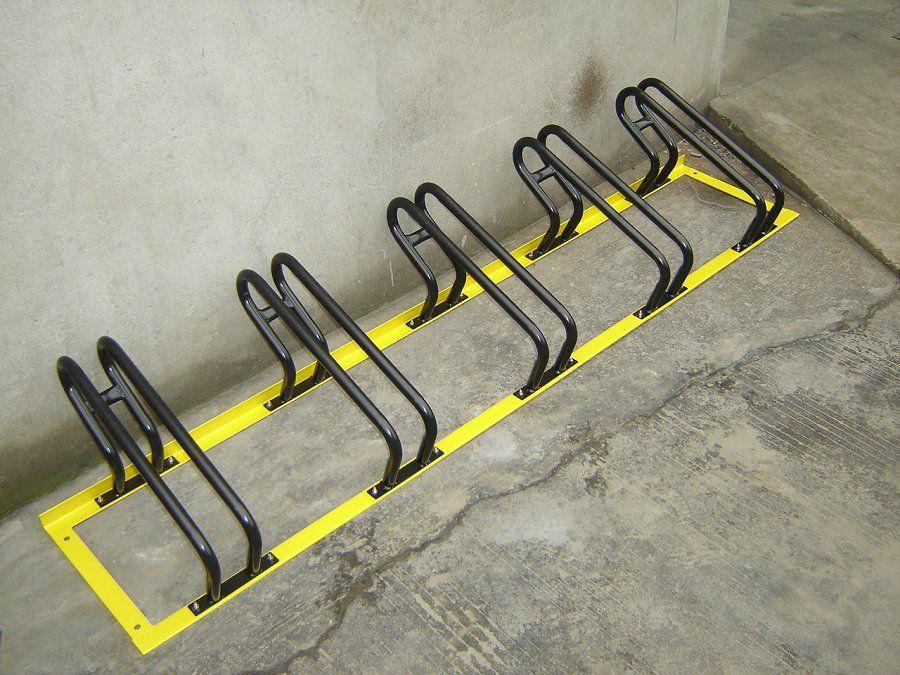卡位式自行车停车架 九磊