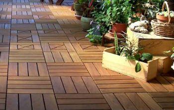户外高品质塑木地板