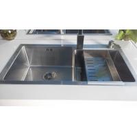 任性系列零距离304不锈钢78*43手工水槽