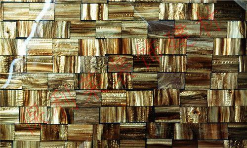 人造贝壳板-仿贝壳板-贝壳马赛克-三角拼花贝壳板