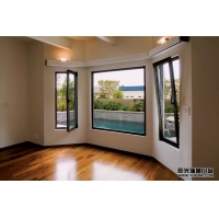 北京亚铝断桥铝铝合金窗户双层中空钢化超强隔音