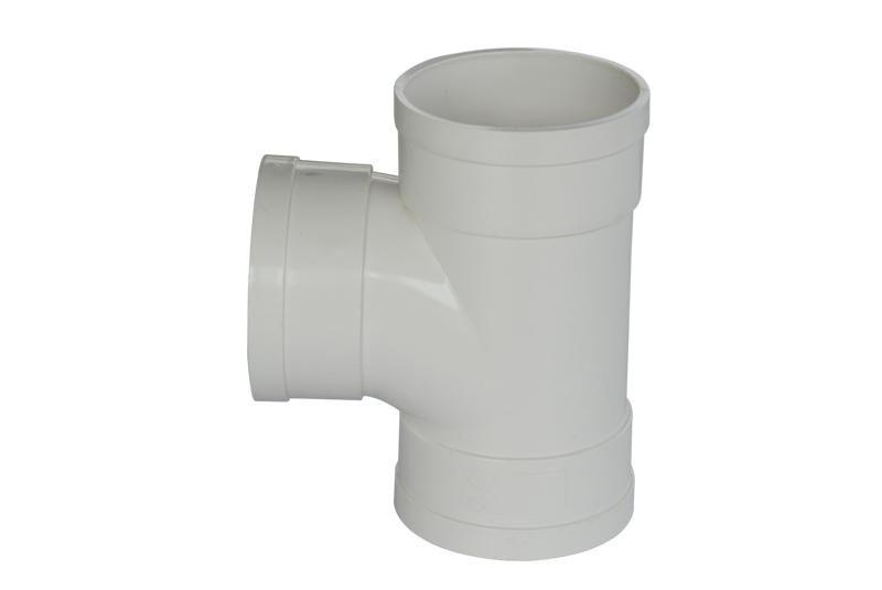 PVC顺水三通 PVC管件