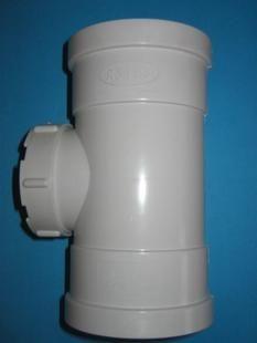 PVC立检口 PVC排水管件