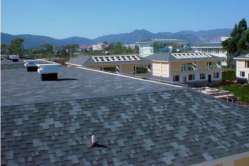 玻纤瓦 多彩玻纤瓦 沥青瓦 油毡瓦 屋面防水