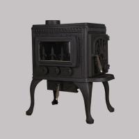 欧式独立铸铁真火燃木壁炉芯取暖炉