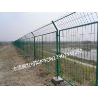 太原框架护栏网高速公路焊接铁丝防护网