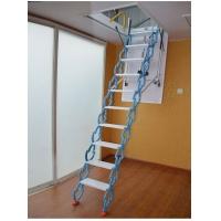 全自动阁楼伸缩楼梯家用伸缩梯别墅复式室内阁楼升降折叠隐形楼梯