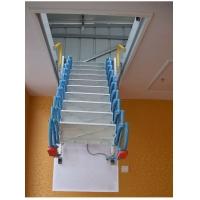 镁合金电动款阁楼伸缩楼梯升降室内隐形梯厂家品牌价格