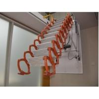 高档电动遥控伸缩楼梯钛镁合金材质阁楼伸缩楼梯