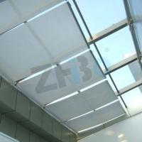 厂家供应FSS电动天棚帘 阳光房采光顶电动遮阳帘