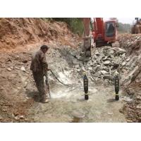 沟槽开挖液压劈裂机挖沟渠分裂机厂家