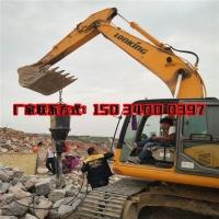 石头二次分解劈裂机挖地基土石方基础破石头劈裂机
