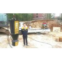 液压硬石头分裂机城市基础建设开挖厂家