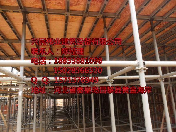 新型建筑模板支架