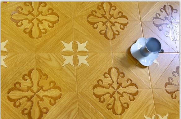 强化复合木地板欧式拼花地板12mm强化地板背景墙地暖环保厂家