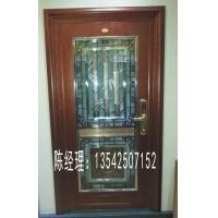 高品质铝雕竹子红铜不锈钢复合门