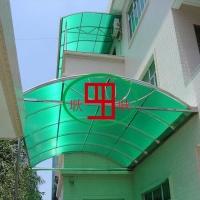 雨棚专用草绿色阳光板生产厂家