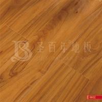 复合地板防水封蜡强化木地板 圣百年高光大圆弧地板