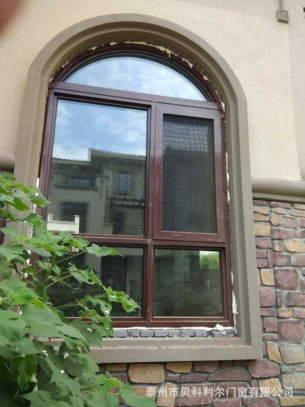 泰州市贝科利尔110系列节能铝包木门窗