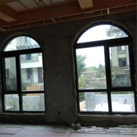 贝科利尔弧形异形铝包木门窗定制
