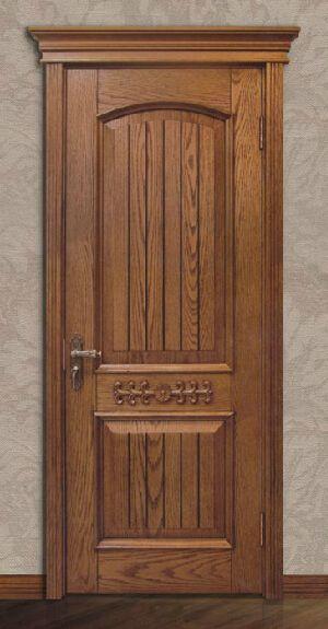 欧式风格卧室门颜色图片