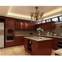 青岛莎曼迪整体橱柜定做厨房全屋定制家具U型简欧式吸塑橱柜订做