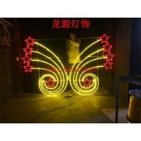 LED灯杆景观艺术灯造型灯蓝图案灯