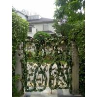 高档别墅后花园艺术铁艺大门