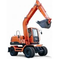供应福建新源挖掘机XY90轮式挖掘机