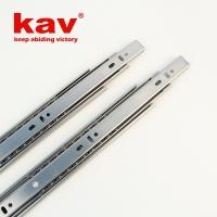 38宽不锈钢钢珠滑轨 三节滑轨 三折滑轨