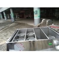 成品隔油池,食堂隔油池,厨房不锈钢隔油器