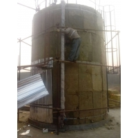 1000DN罐体保温工程施工