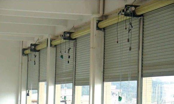 朝阳防火卷帘门 商场安装电动卷帘门