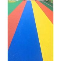 彩色室外橡胶跑道