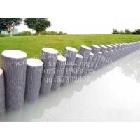 圆形仿木树桩挡土墙 仿木树桩模具