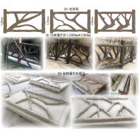 仿树藤栏杆模具 仿木栏杆施工 仿木纹栏杆 仿树藤护栏模具