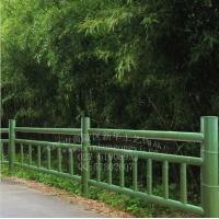 水泥仿竹围栏模具 仿竹护栏模具 混凝土仿木护栏模具