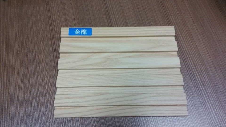 供应广东室内生态木装饰板 pvc生态木覆膜长城板