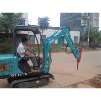 供应德力挖掘机DL15-8履带挖掘机小型挖掘机园林挖掘机