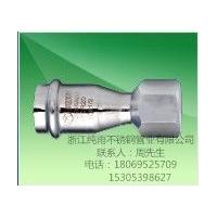 薄壁不锈钢给水管卡压式焊接式管材管件燃气管道