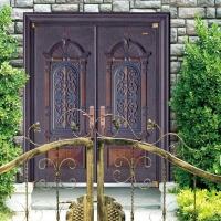 铸铝门宫延甲级防盗门