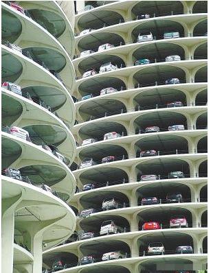 起重立体车库原理 垂直升降停车设备