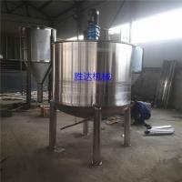 不锈钢液体搅拌罐胶水加热搅拌桶乳胶漆pvc胶搅拌锅定制