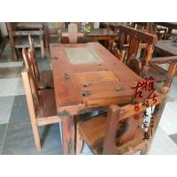 古船木几多功能电磁炉泡茶桌